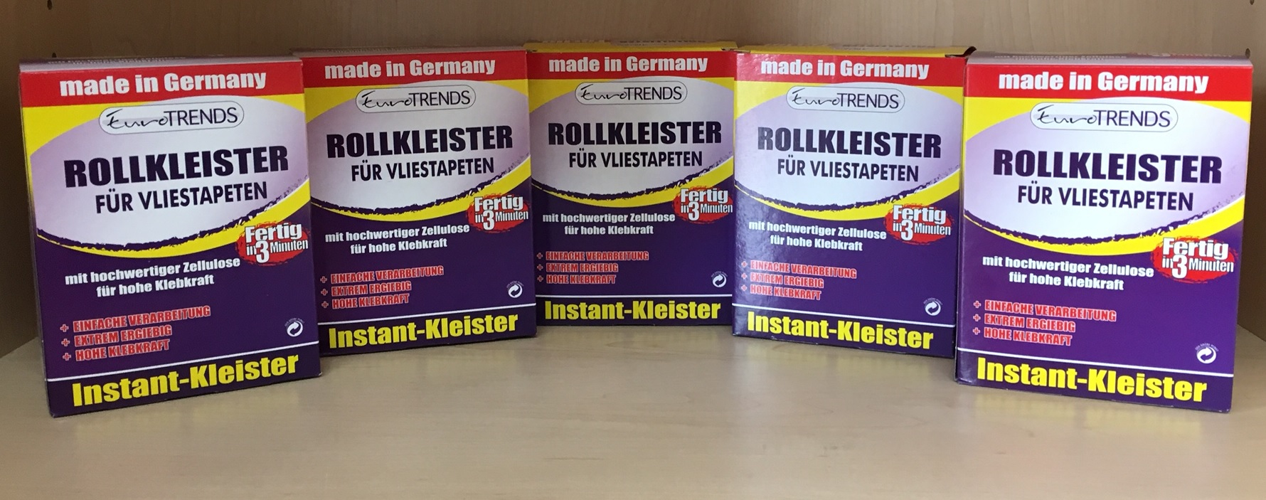 1 kg rollkleister 5 x 200g kleister f r vliestapete ebay. Black Bedroom Furniture Sets. Home Design Ideas