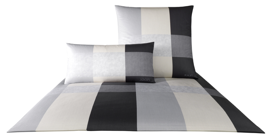 joop bettw sche lucent stripes 155x220 cm col 09 kiesel ebay. Black Bedroom Furniture Sets. Home Design Ideas